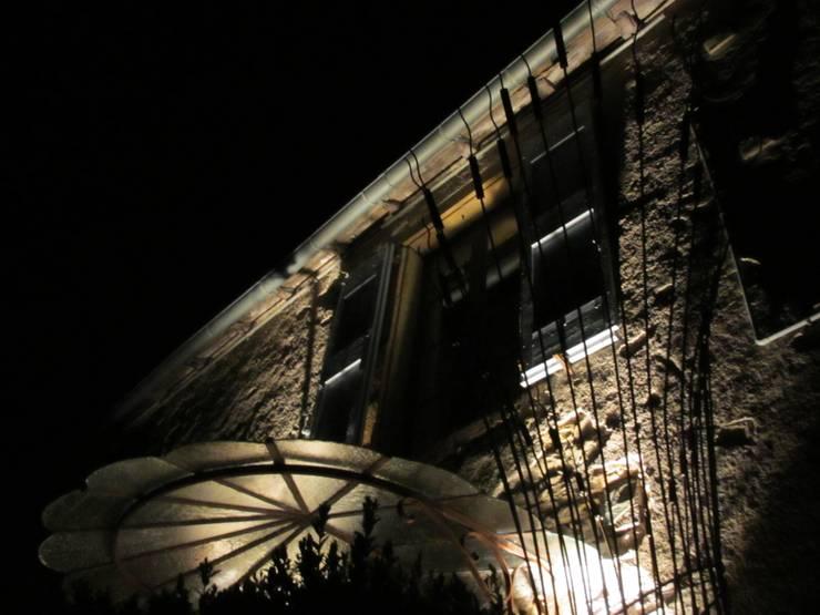 Gerbe de Blé: Terrasse de style  par Artiste Sculpteur, Designer et Artisan d'Art