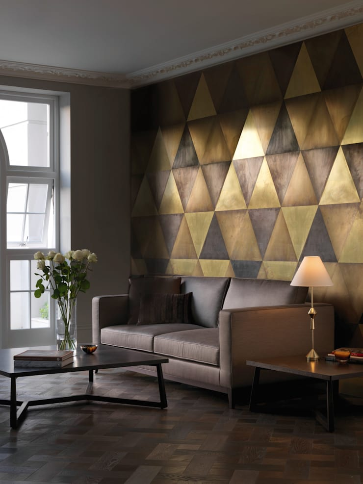 Maya wall tiles:  Corridor, hallway & stairs by CTO Lighting Ltd