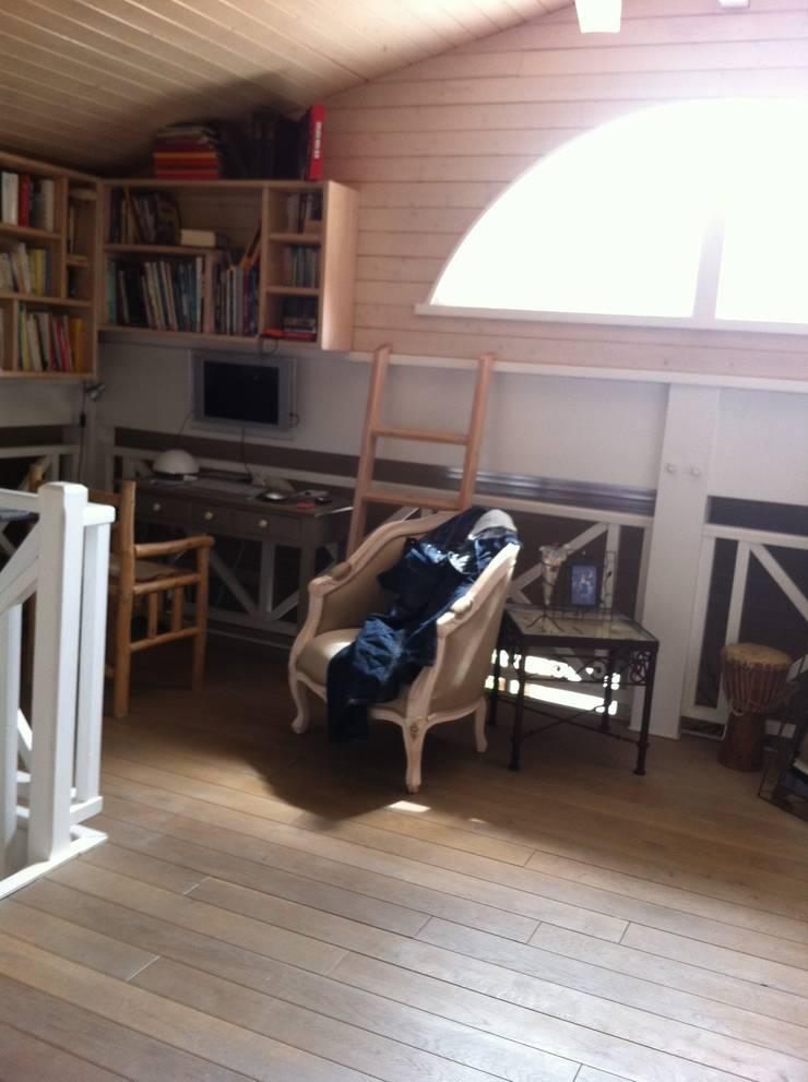 mezzanine avant travaux:  de style  par Malka Barokel Architecte