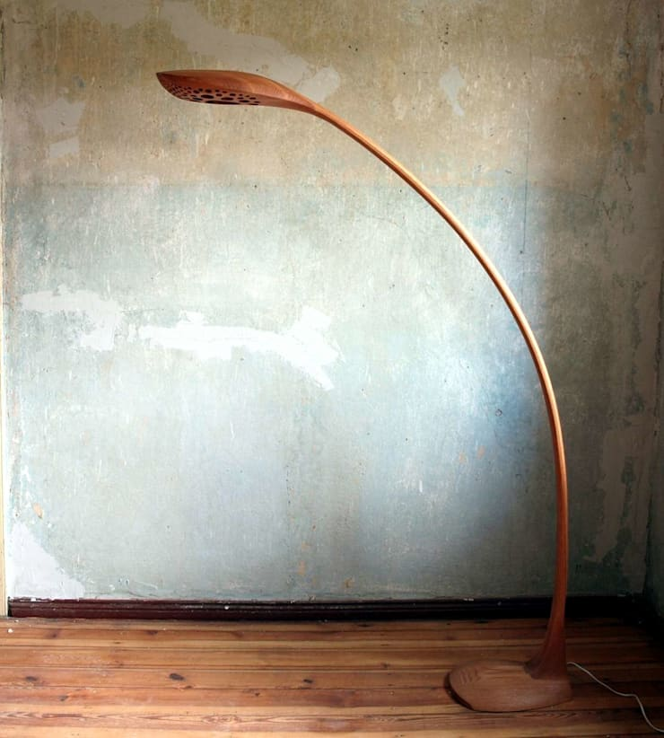 Bogenlampe Drosaria: modern  von Holzarbeiten André Findeisen,Modern