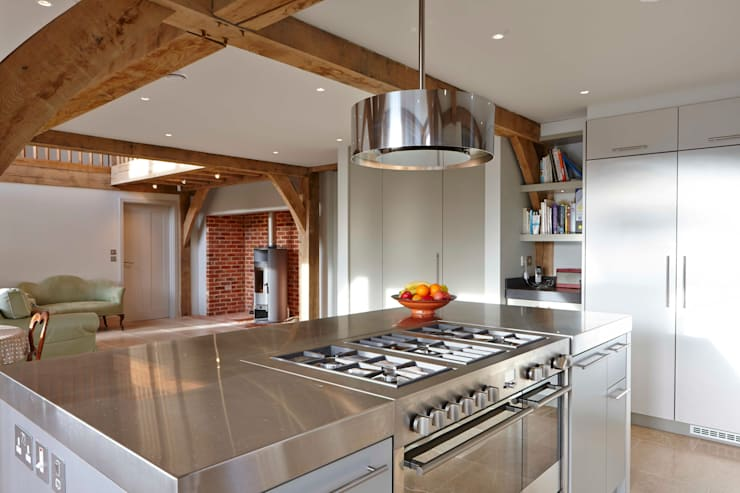 Stable Cottage:  Kitchen by Adam Coupe Photography Limited