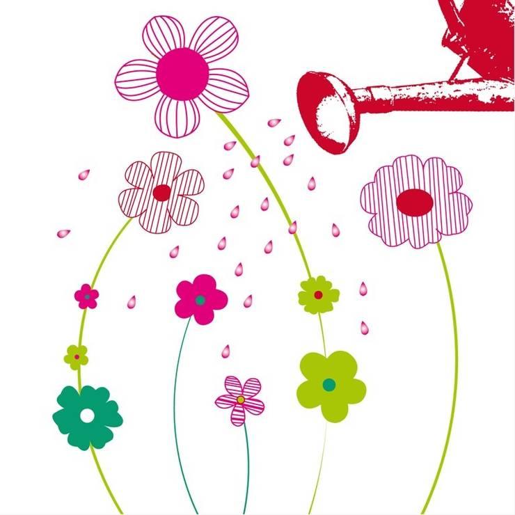 Carte d'art: Art de style  par Marine Chalayer Design Textile