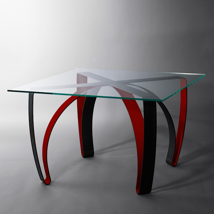 Table de repas: Salle à manger de style  par Coco Steel