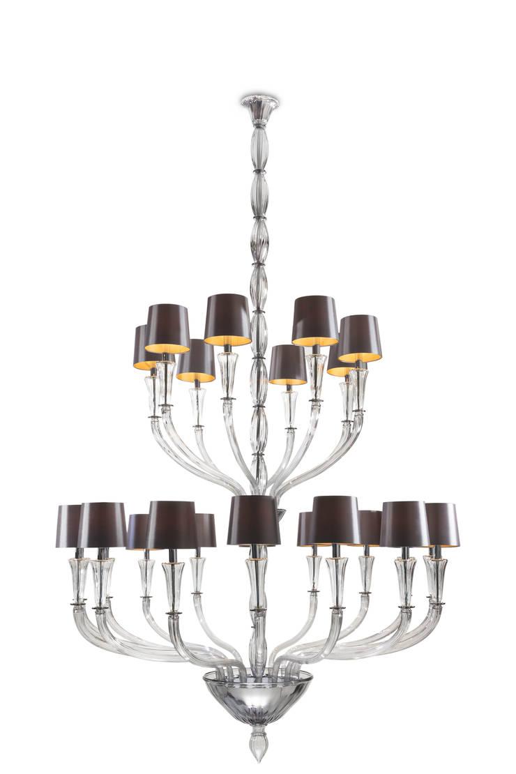 Zeus chandelier:   by Baroncelli