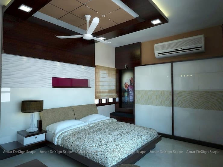 Residential Interiors:  Living room by Amar DeXign Scape