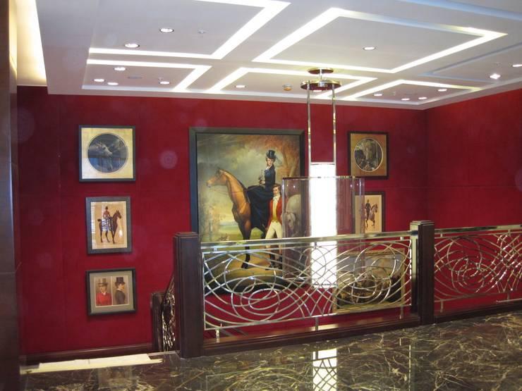 LA CHASSE A COURRE – Hotel  » Four Seasons  » Londres: Art de style  par Thierry Bruet Painter
