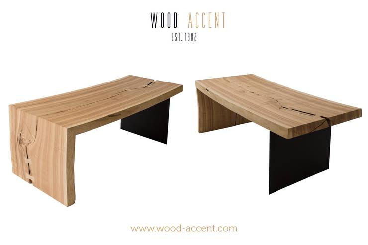 Salas / recibidores de estilo  por WOOD ACCENT, Moderno