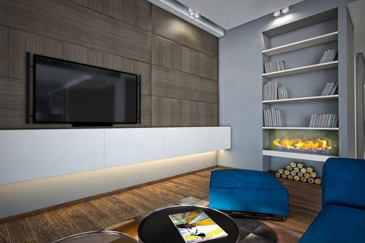 Гостиная : Гостиная в . Автор – Medianyk Studio