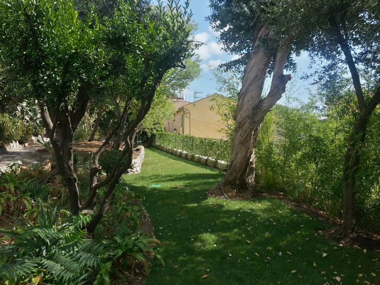 Villa à Menton: Jardin de style de stile Rural par Agence Manuel MARTINEZ