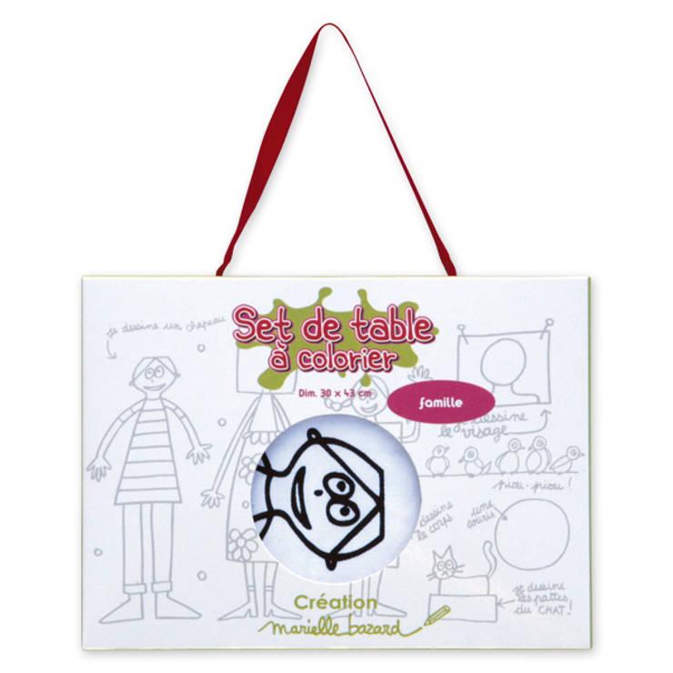 Collection <q>à colorier</q> par Marielle Bazard: Chambre d'enfants de style  par lapetitegalerie