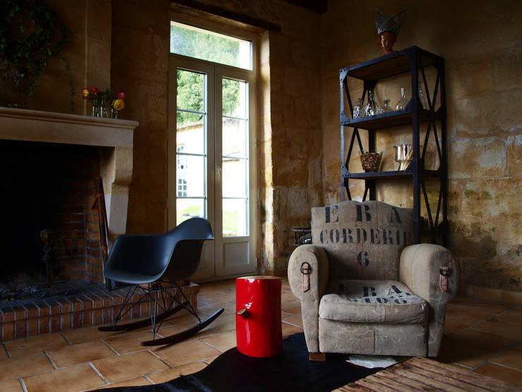 Collection so french : série st jean: Salon de style  par la p'tite fabrik
