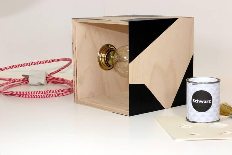 Dekoleuchte Cube DIY Kit:   von FridaFinn