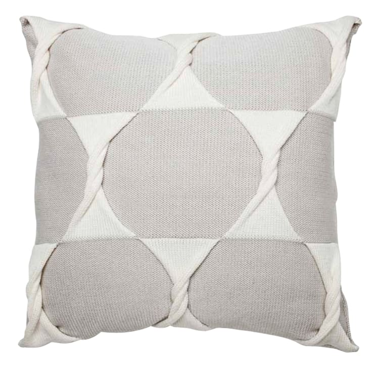Twist Cushion - Silver:  Household by From Brighton With Love