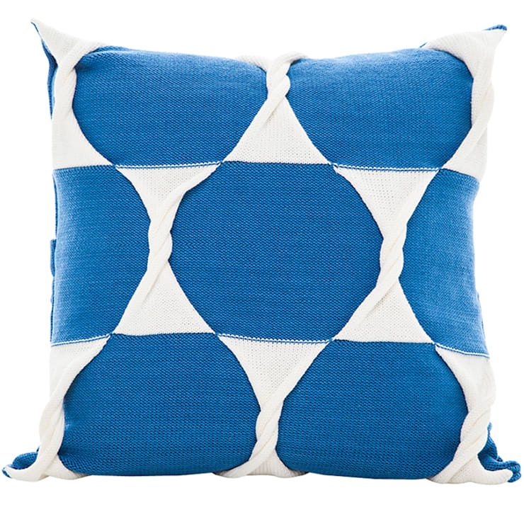 Twist Cushion - Marine:  Household by From Brighton With Love