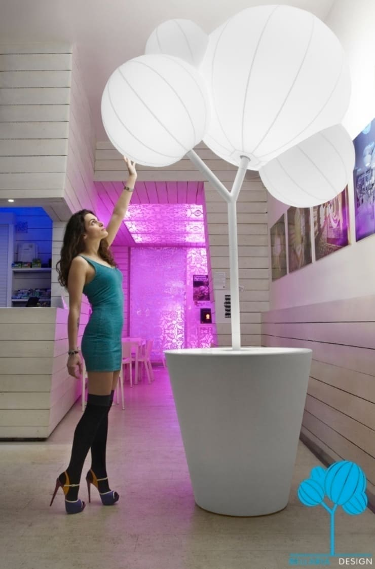@Blanco: Spazi commerciali in stile  di Bellaria Design,