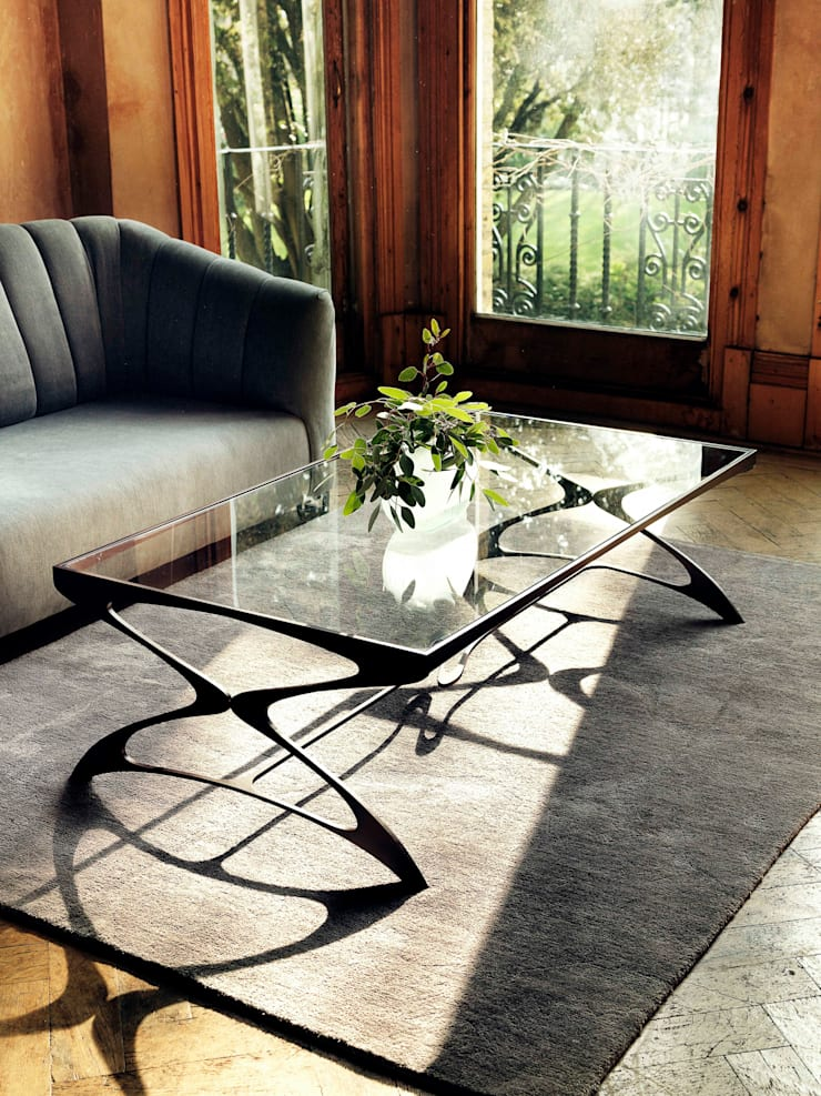 Opera Coffee Table :  Living room by Tom Faulkner