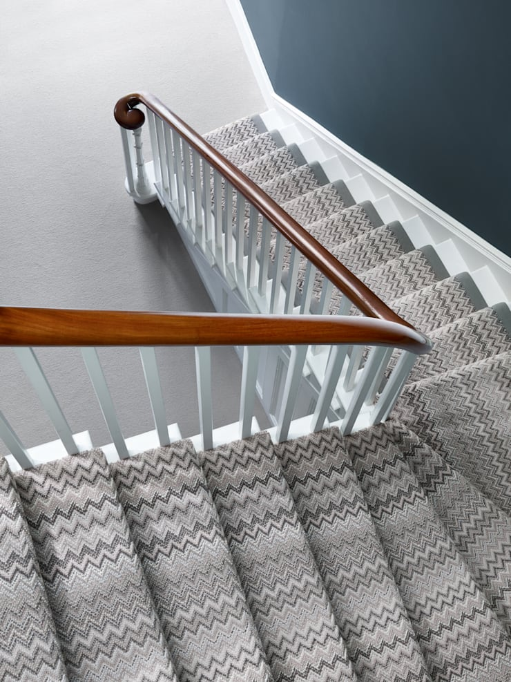 Fabulous Stairs:  Walls & flooring by Wools of New Zealand