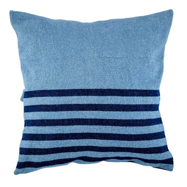Denim Range - Light Wash with Narrow Stripes:  Household by From Brighton With Love