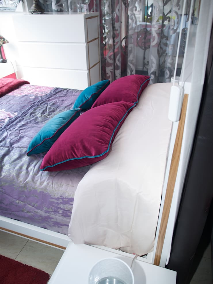 lenervo:dormitorio: Dormitorios de estilo  de Lenervo