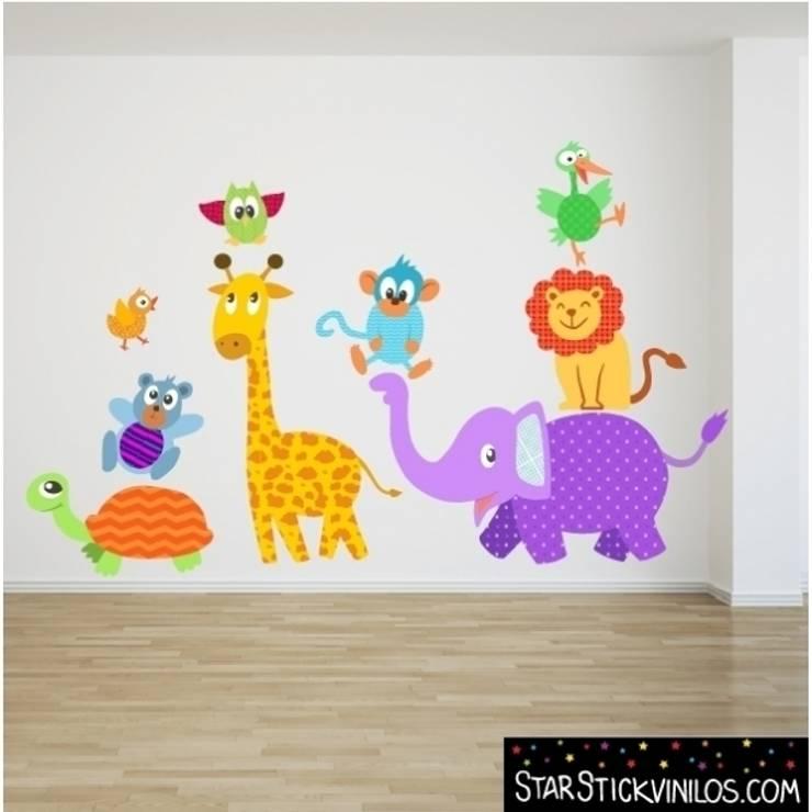 Vinilo decorativo infantil Animales :  de estilo  de StarStick