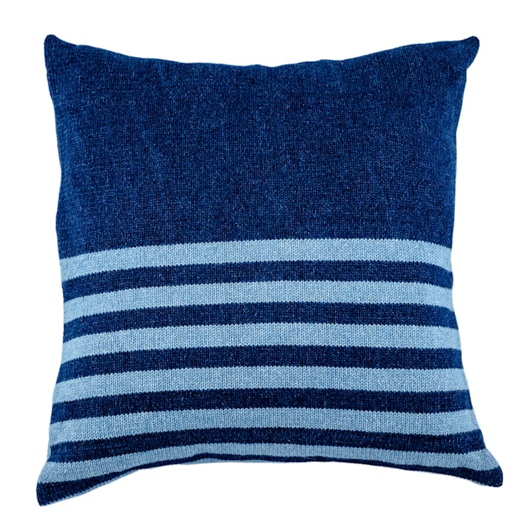 Denim Range - Dark Wash with Narrow Stripes:  Household by From Brighton With Love