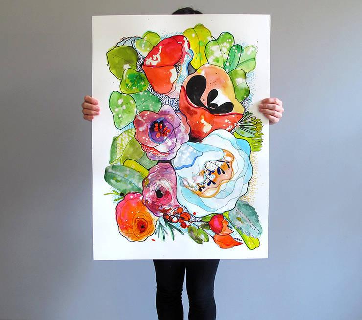 Organic Poetry: Arte in stile  di Cayena Blanca,