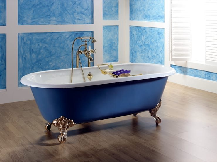 classic Bathroom by bleu provence