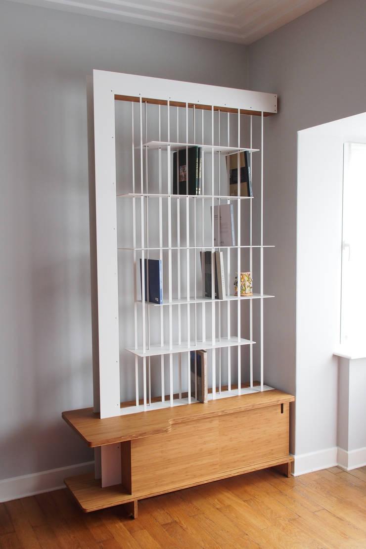La bibliothèque aérienne de Laura: Salon de style  par Jo-a