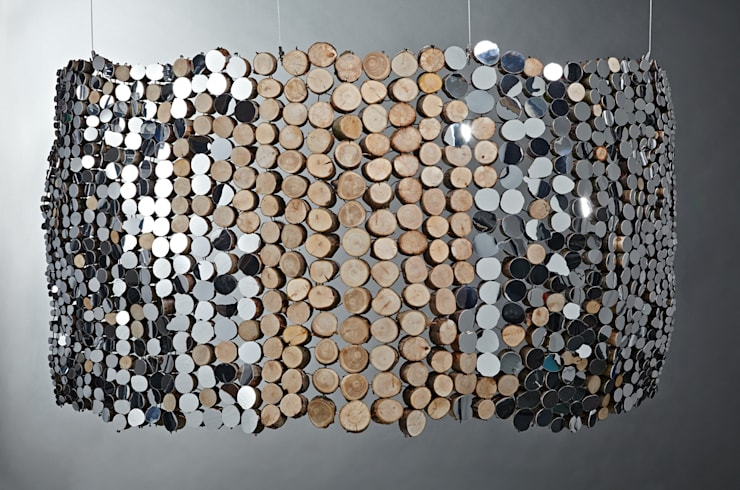 Curved Mirror Tapestry (reverse):  Artwork by Lee Borthwick