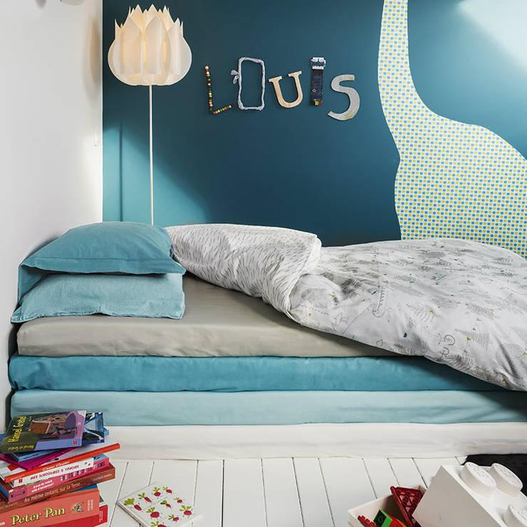 Housse de couette FORET: Chambre d'enfants de style  par Louis Le Sec