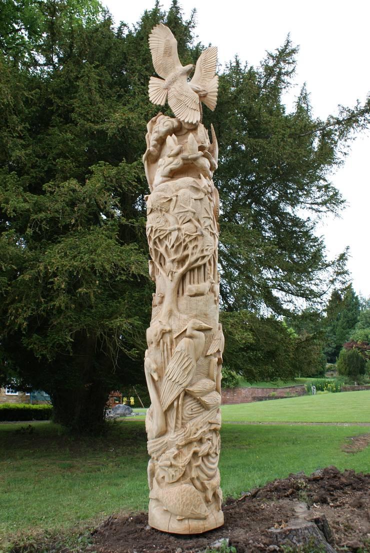 Tree of life:  Artwork by Tom Harvey