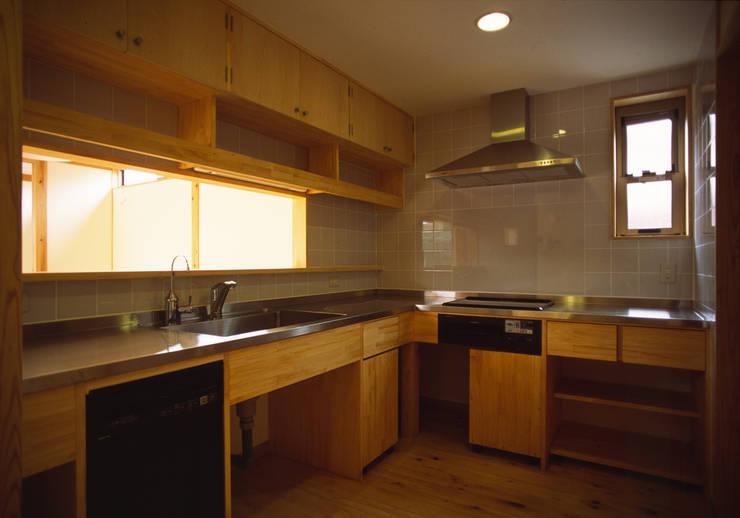 キッチン: 八島建築設計室が手掛けたキッチンです。
