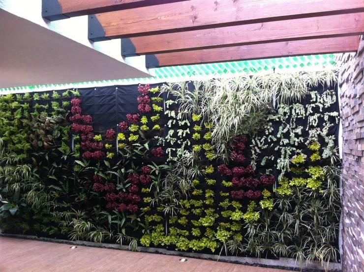 Terraza: Terrazas de estilo  por MEGA arquitectura