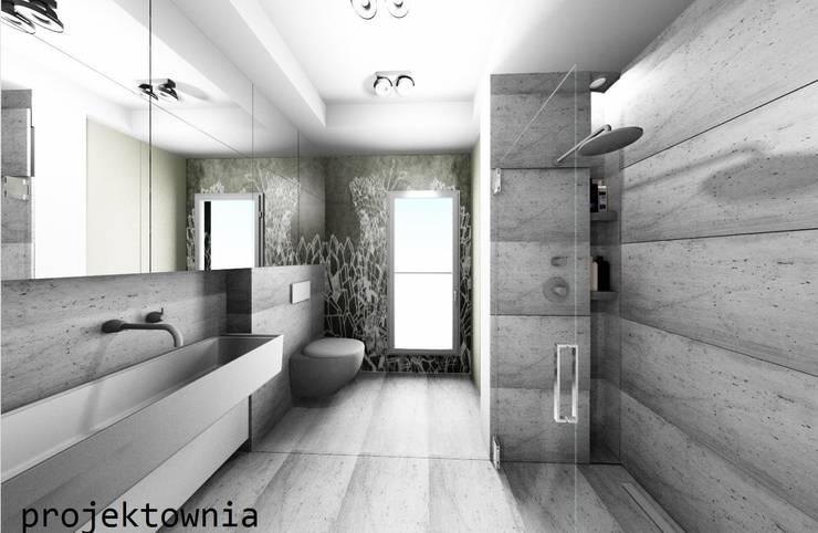 Łazienka: styl , w kategorii Łazienka zaprojektowany przez Projektownia Marzena Dąbrowska