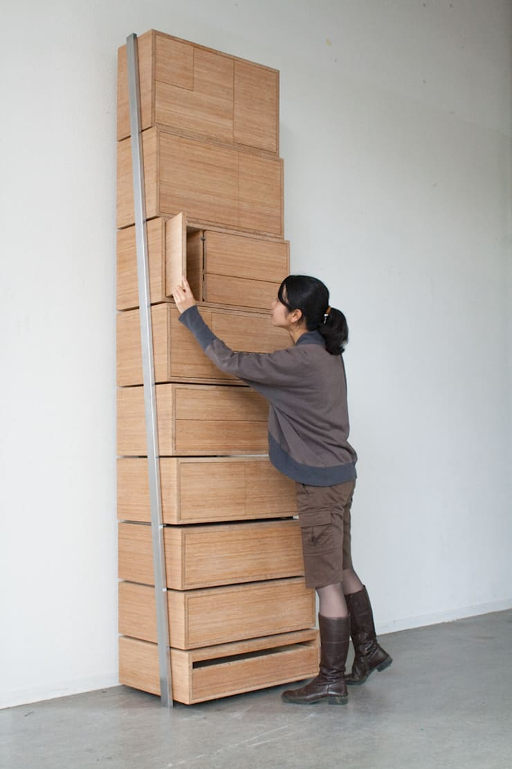 Staircase: modern  door Danny Kuo Design, Modern
