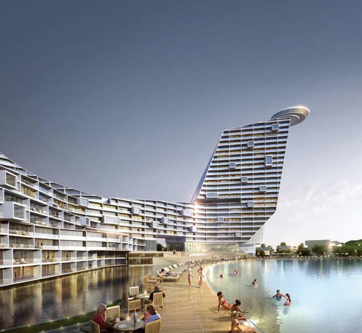Dobido Miceminium Resort: 나우동인건축사사무소의  호텔