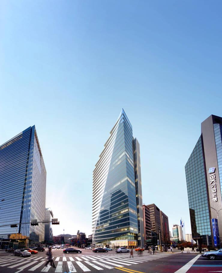 Myeong-dong District 3 Urban Environmental Improvement Project: 나우동인건축사사무소의  상업 공간