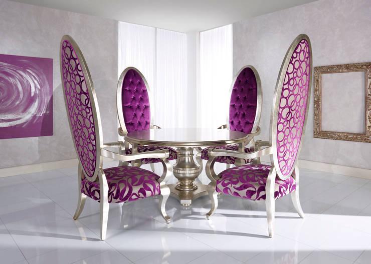 Projekty,  Salon zaprojektowane przez BelloSedie