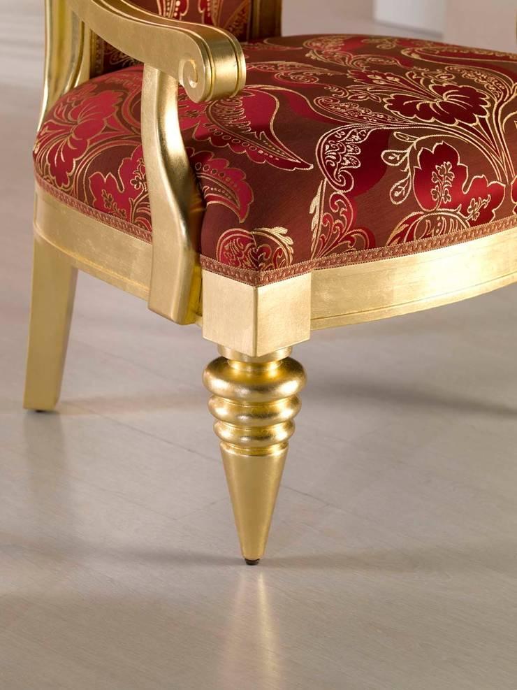 Art. 3400/A – Throne: Soggiorno in stile  di BelloSedie