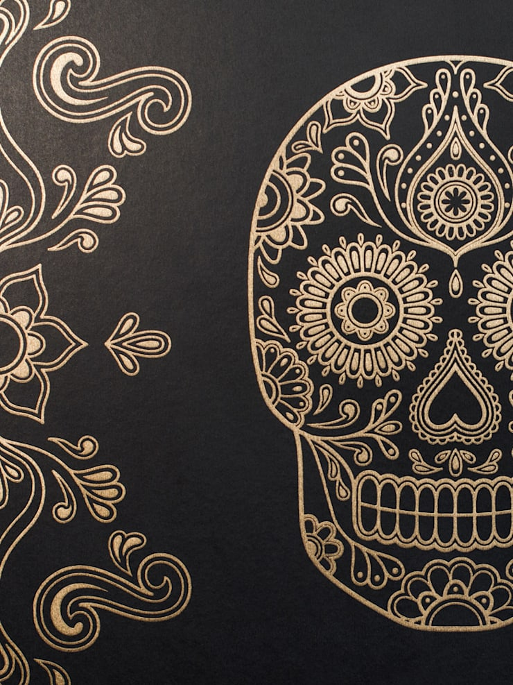 Skull Wallpaper:   by Anatomy Boutique