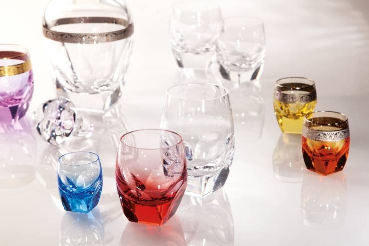 Sofistike – MOSER / Bar koleksiyonu bardaklar:  tarz Yemek Odası