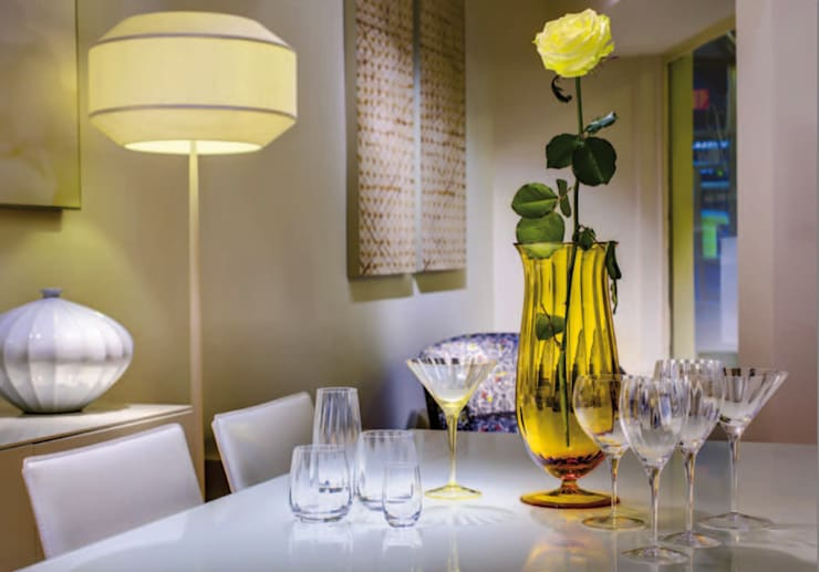 Sofistike – MOSER / Optic koleksiyonu:  tarz Yemek Odası