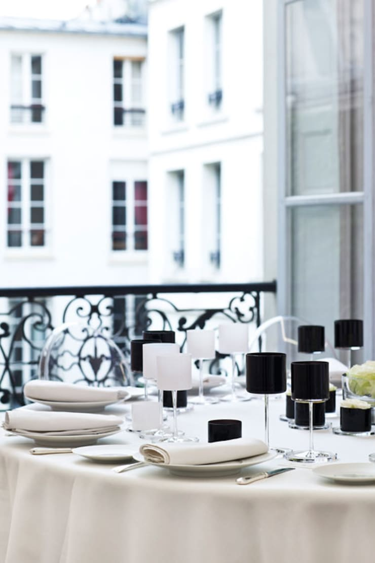 Sofistike – ORREFORS CRYSTAL / Series: Orrefors by Karl Lagerfeld:  tarz Yemek Odası