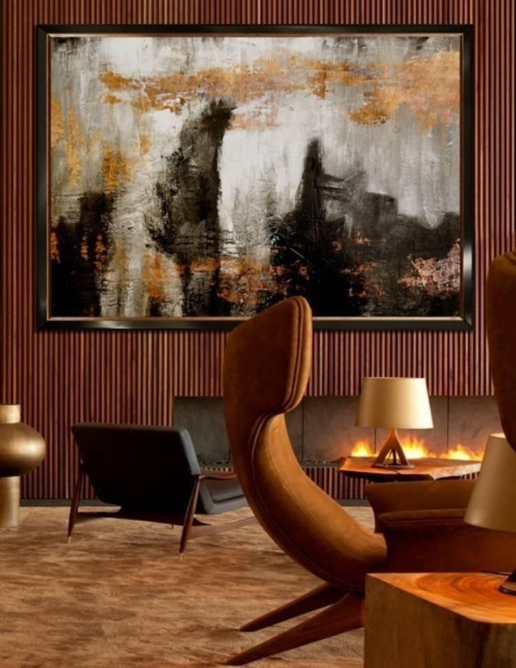Umpara in situ:  Living room by Quintessa Art