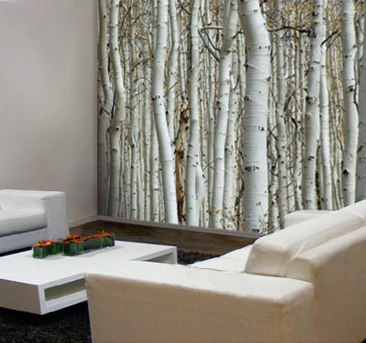 Inspiratie natuurlijke muurdecoratie van Muurmode