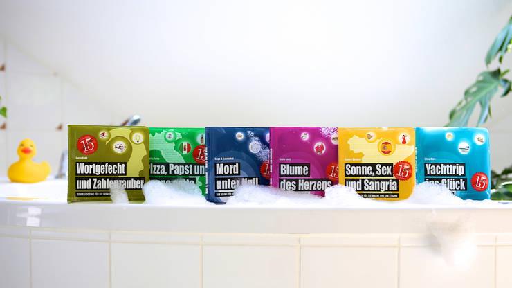 Badebücher für Erwachsene: ausgefallene Badezimmer von Edition Wannenbuch