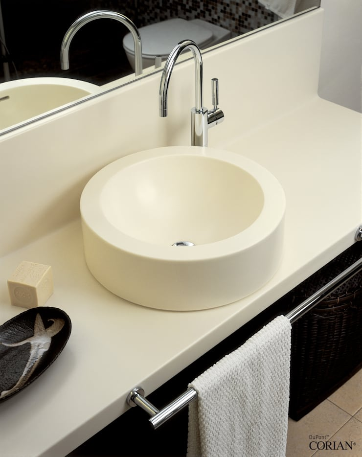 DUPONT TÜRKİYE – DuPont™ Corian®: modern tarz Banyo