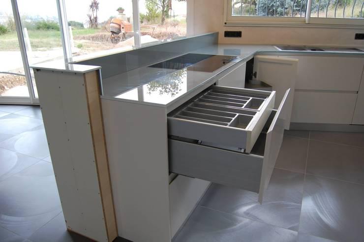 Nouvelle cuisine: Cucina in stile  di Inarte Progetti di Lucio Mana, Moderno