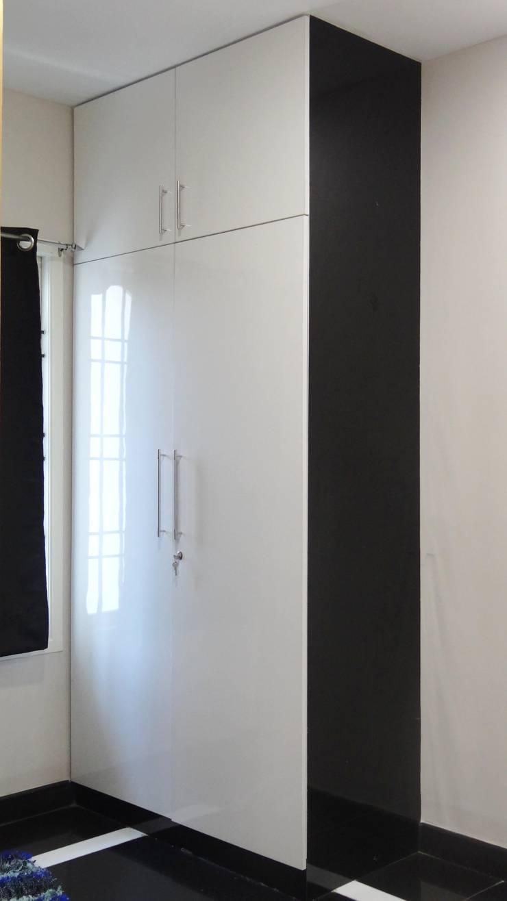 Classic B/W Project Kolathur:  Bedroom by Classic Kitchen Pvt Ltd