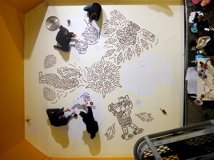 PIgments Xocoalt:  de style  par Hop La Studio